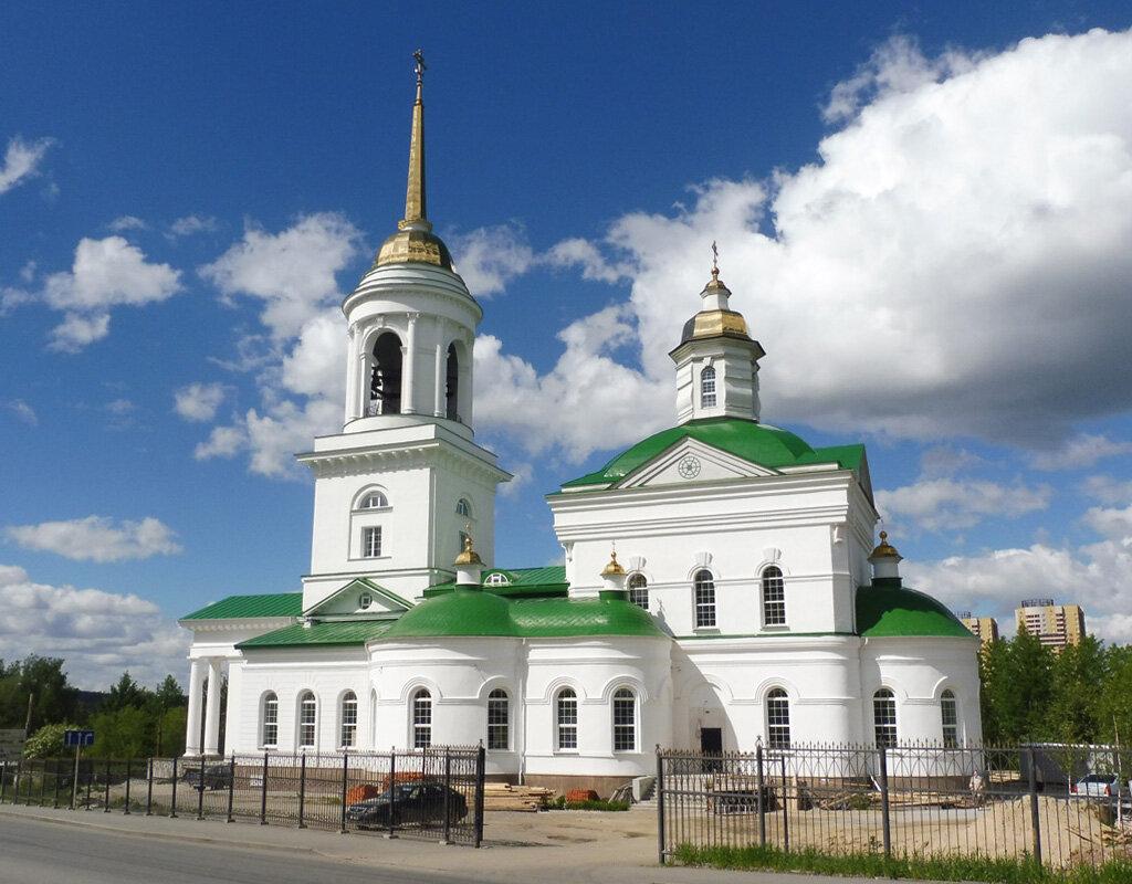 Храм во имя иконы Божией Матери Казанская