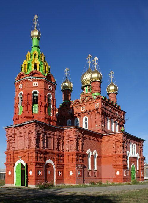 Фото Сергея Мунарева. Храм во имя святителя Николая Чудотворца в Кулаково