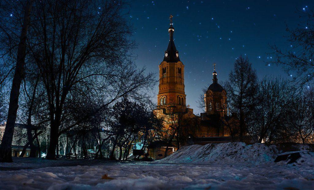Курган православный: достопримечательности - Кафедральный собор святого благоверного Александра Невского