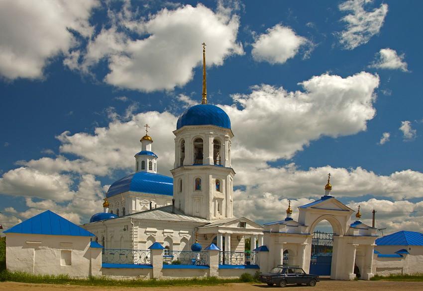 Петропавловская церковь в Куртамыше сегодня