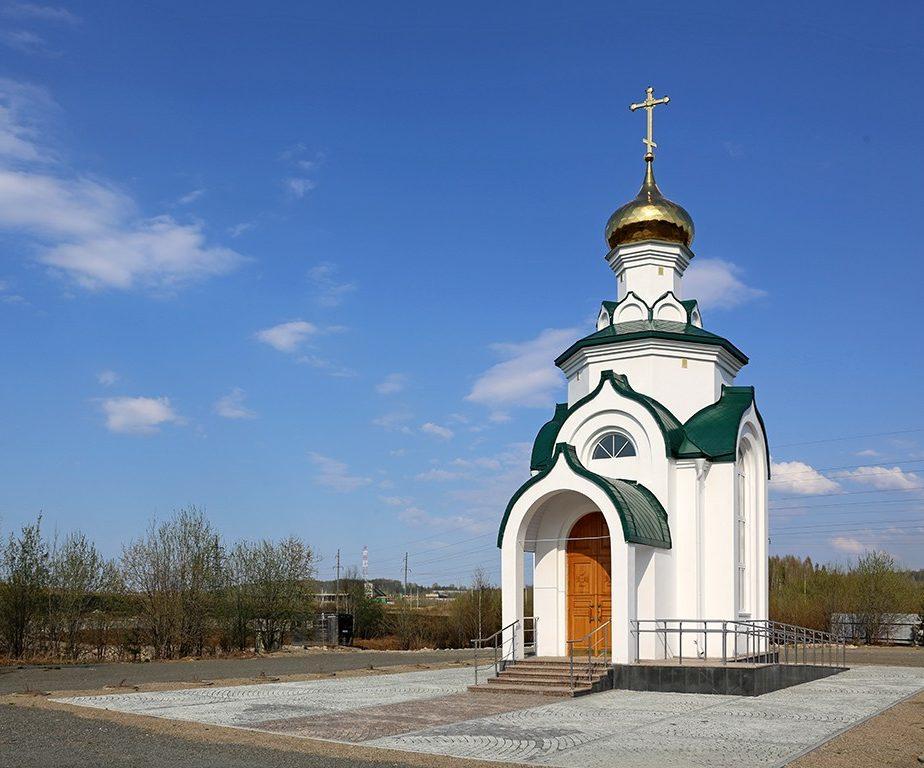 Храм во имя святого великомученика Георгия Победоносца в Кушве. Фото Алексея
