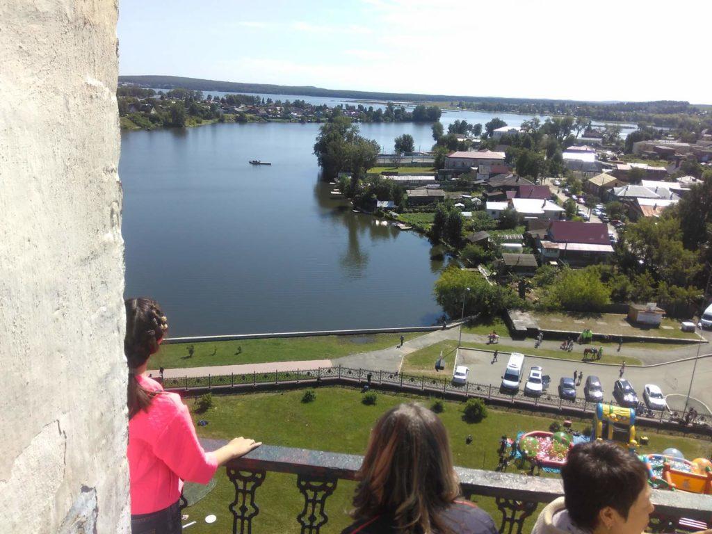 Вид с балкона Невьянской башни