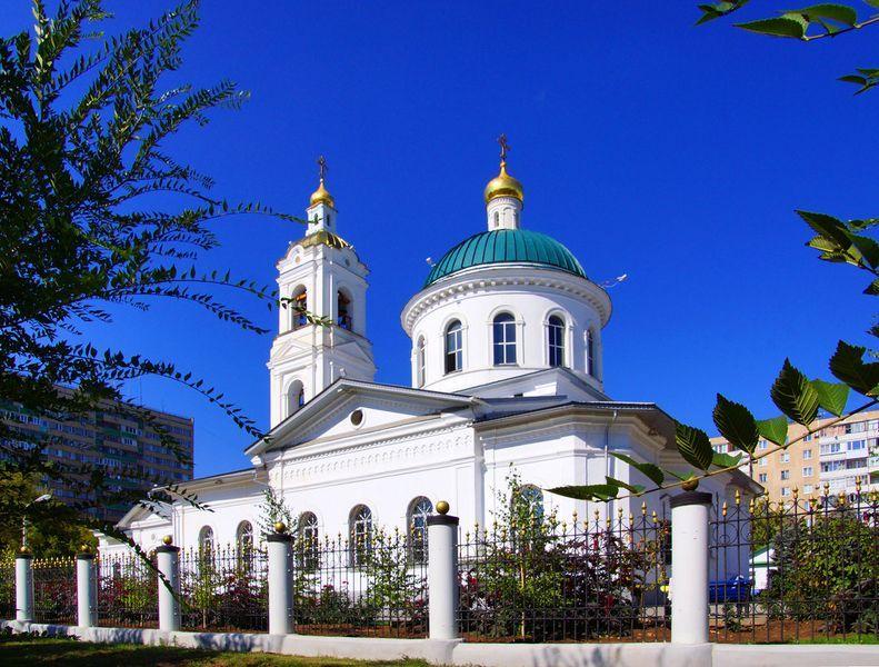 Никольский собор в Оренбурге в наше время