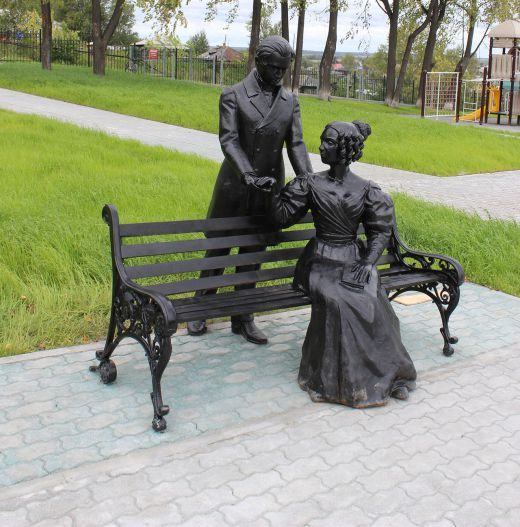 Скульптура в парке Декабристов