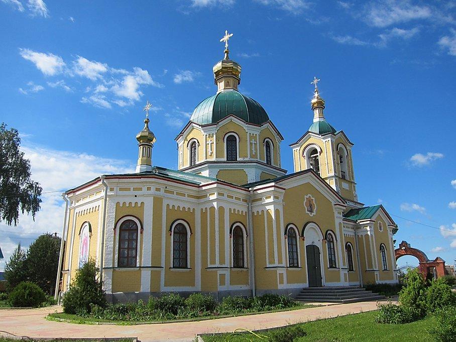 Храм святителя Николая Чудотворца в Кольцово