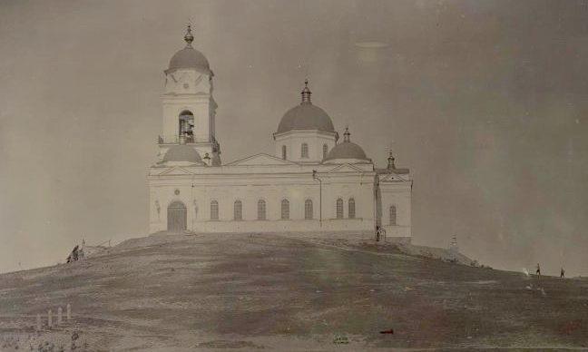 Троицкий храм в начале XX века