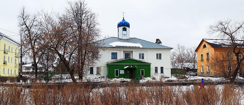 Храм Ксении Петербургской в Реже освящен в 1999 году