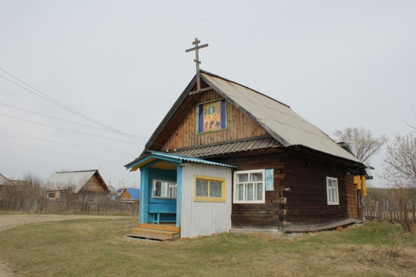 Деревня Сербишино: храм Преображения Господня
