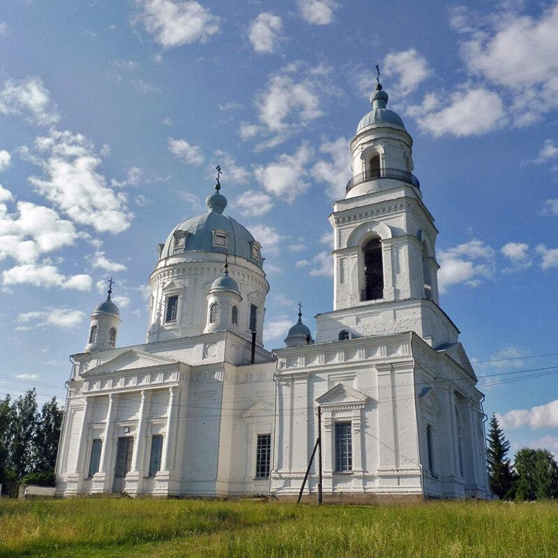 Храм во имя святого благоверного князя Александра Невского в Шурале. Фото Александра Шатунова