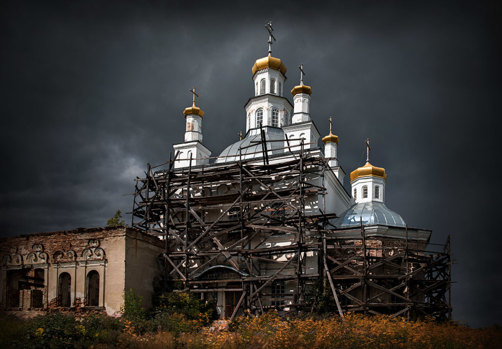Храм Николая Чудотворца в Шогринском. Фото Александра Полякова