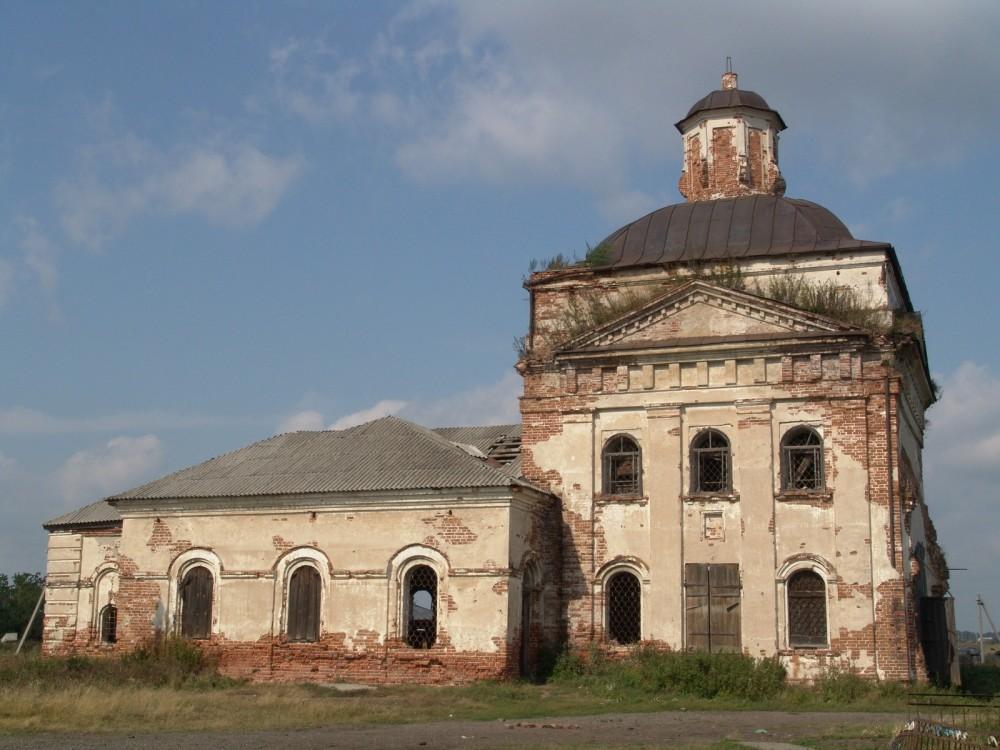 Село Шухруповское: храм святой великомученицы Екатерины