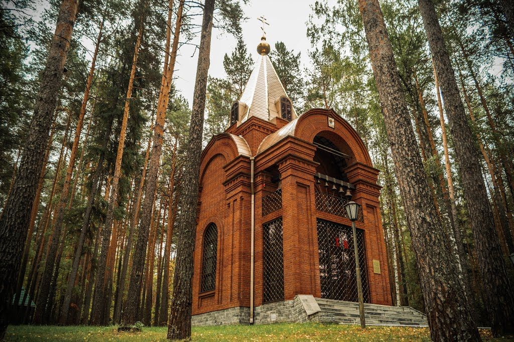 Нижний Тагил, санаторий Ключики: храм во имя святого Алексия