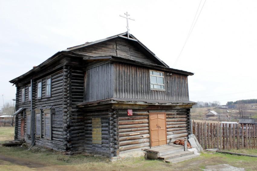 Деревня Нижние Таволги: храм Вознесения Господня