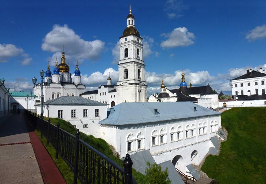 Достопримечательности Тобольска: кремль и храмы. Храмы Тобольского Кремля