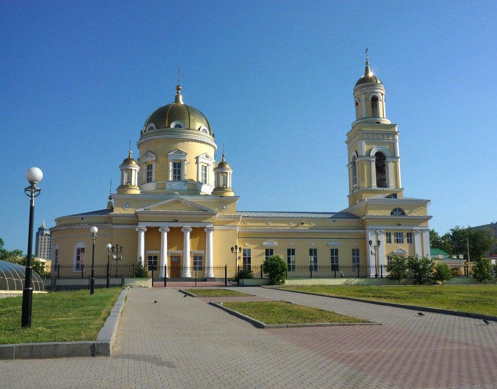 Свято-Троицкий собор в Екатеринбурге