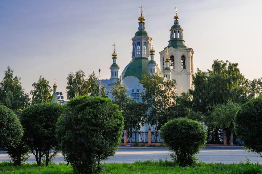 Крестовоздвиженский храм. Фото Алексея Игнатенко