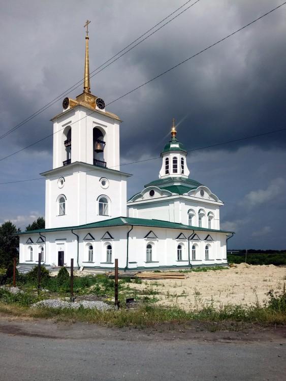 Храмы Тавдинско-Туринского благочиния (районы Туринска и Тавды): Спасский храм