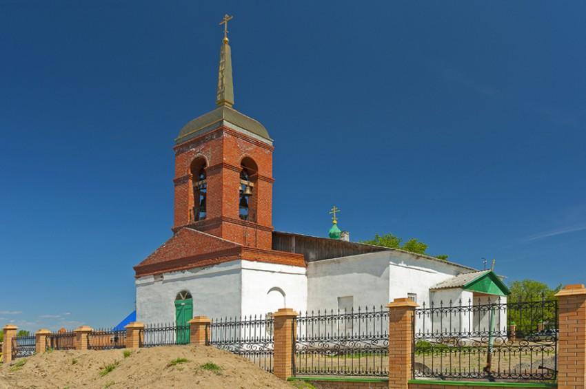 Храм в Утятском сегодня. Автор фото Юрий Артемин