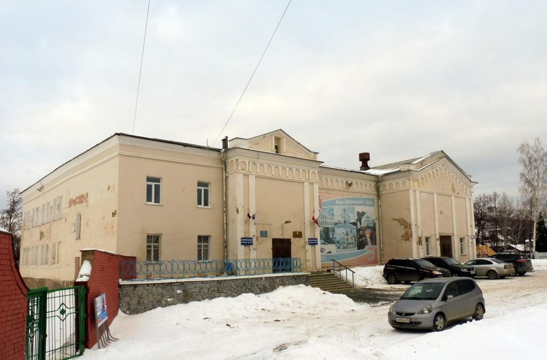 Здание, где действовал храм Николая Чудотворца