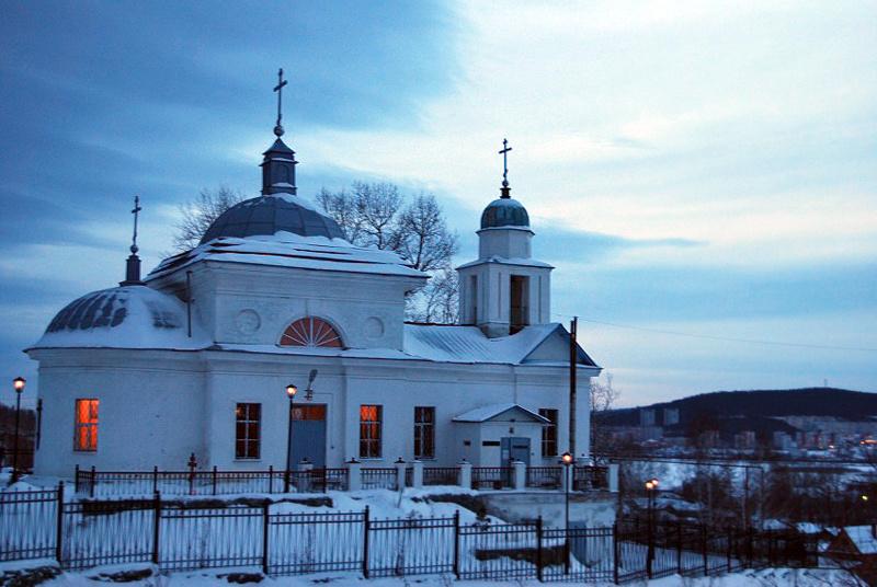 Верх-Нейвинский: храм Воскресения Господня