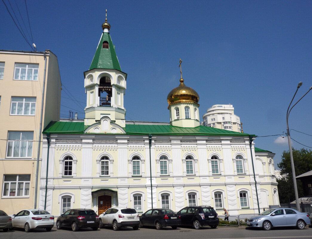 Храм Николая Чудотворца. Автор фото Александр Шатунов