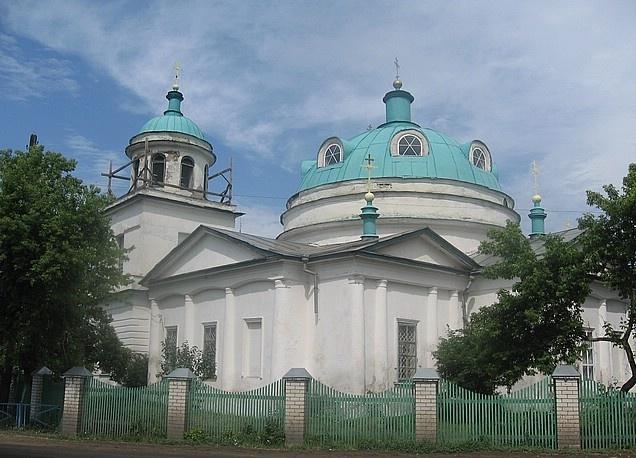 Звериноголовская: Крестовоздвиженская церковь