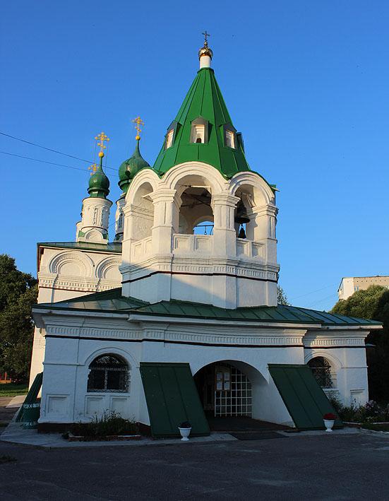 Преображенский храм Преображенского монастыря