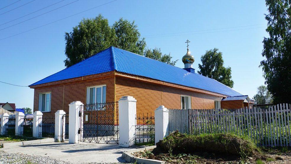 Храм во имя преподобных Зосимы и Савватия Соловецких, поселок Ис