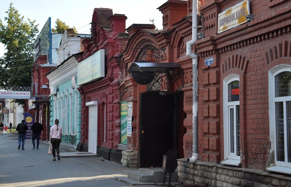 В историческом центре Красноуфимска