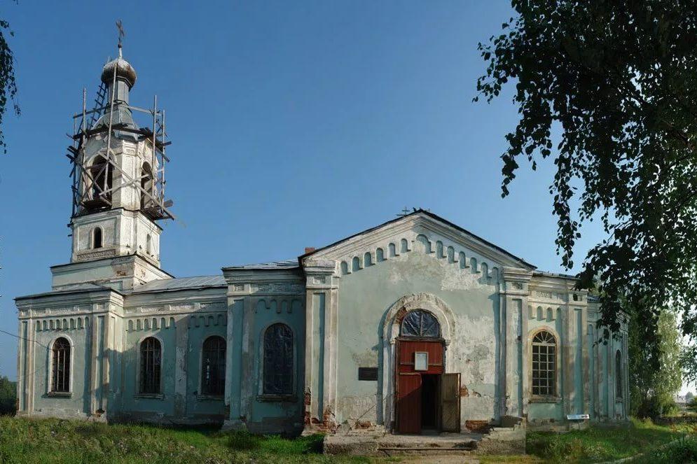 Храм Петра и Павла в Усть-Салде