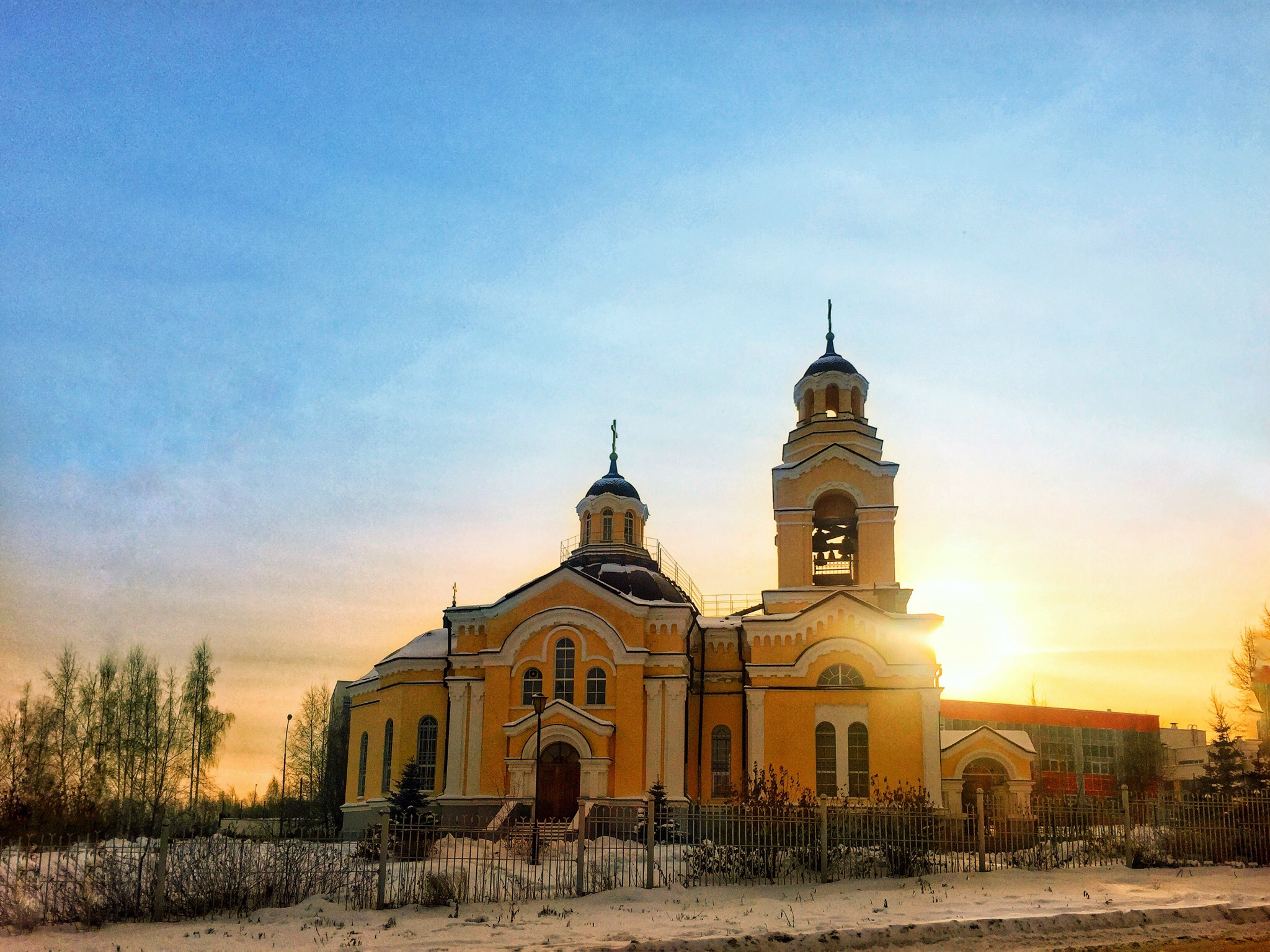 Кировград: храм святого преподобного Амвросия Оптинского