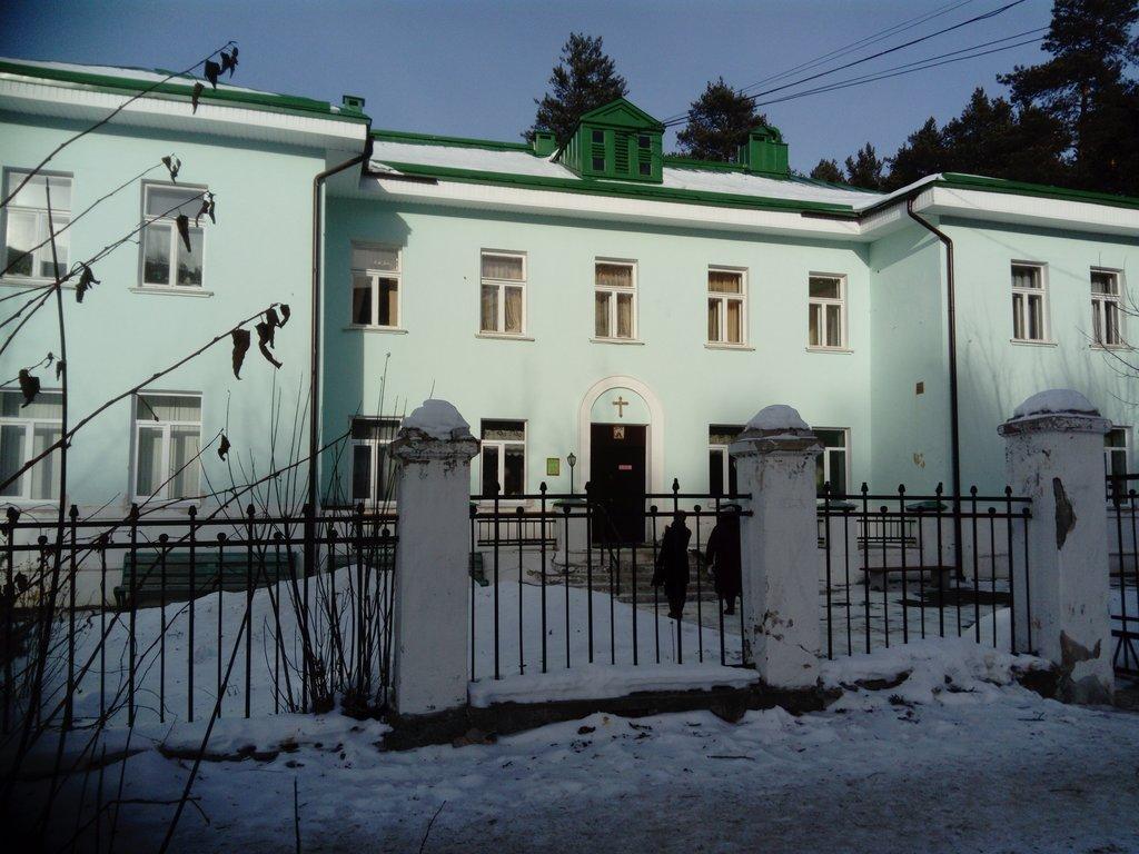 Новоуральск: храм Сергия Радонежского