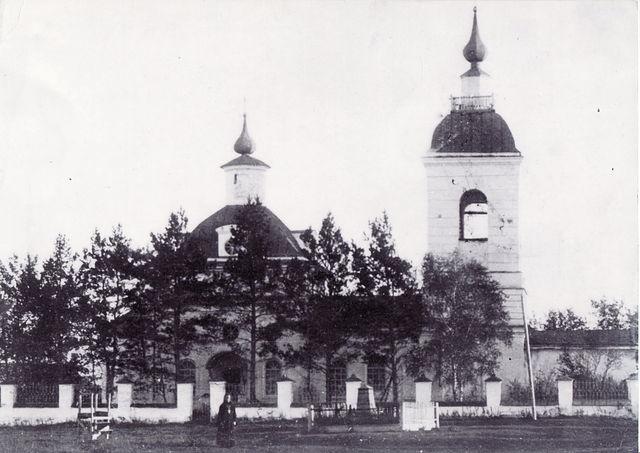 Село Беляковское: храм Владимирской иконы Божией Матери в первой половине XX века
