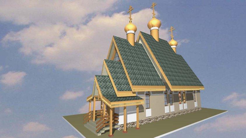 Елань: проект храма в честь иконы Божией Матери «Умягчение злых сердец»