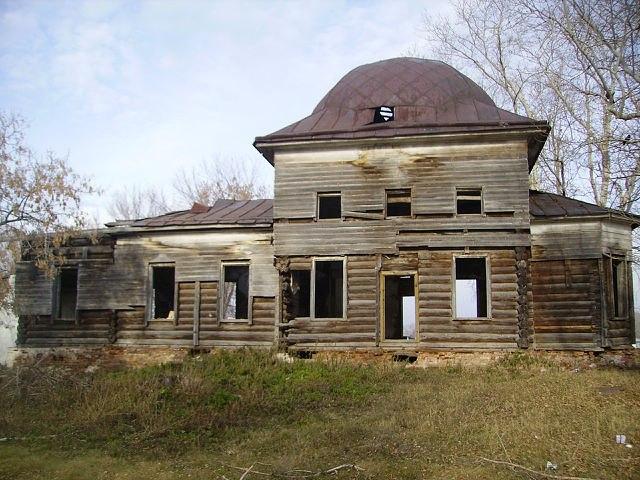 Село Горскинское: храм Николая Чудотворца