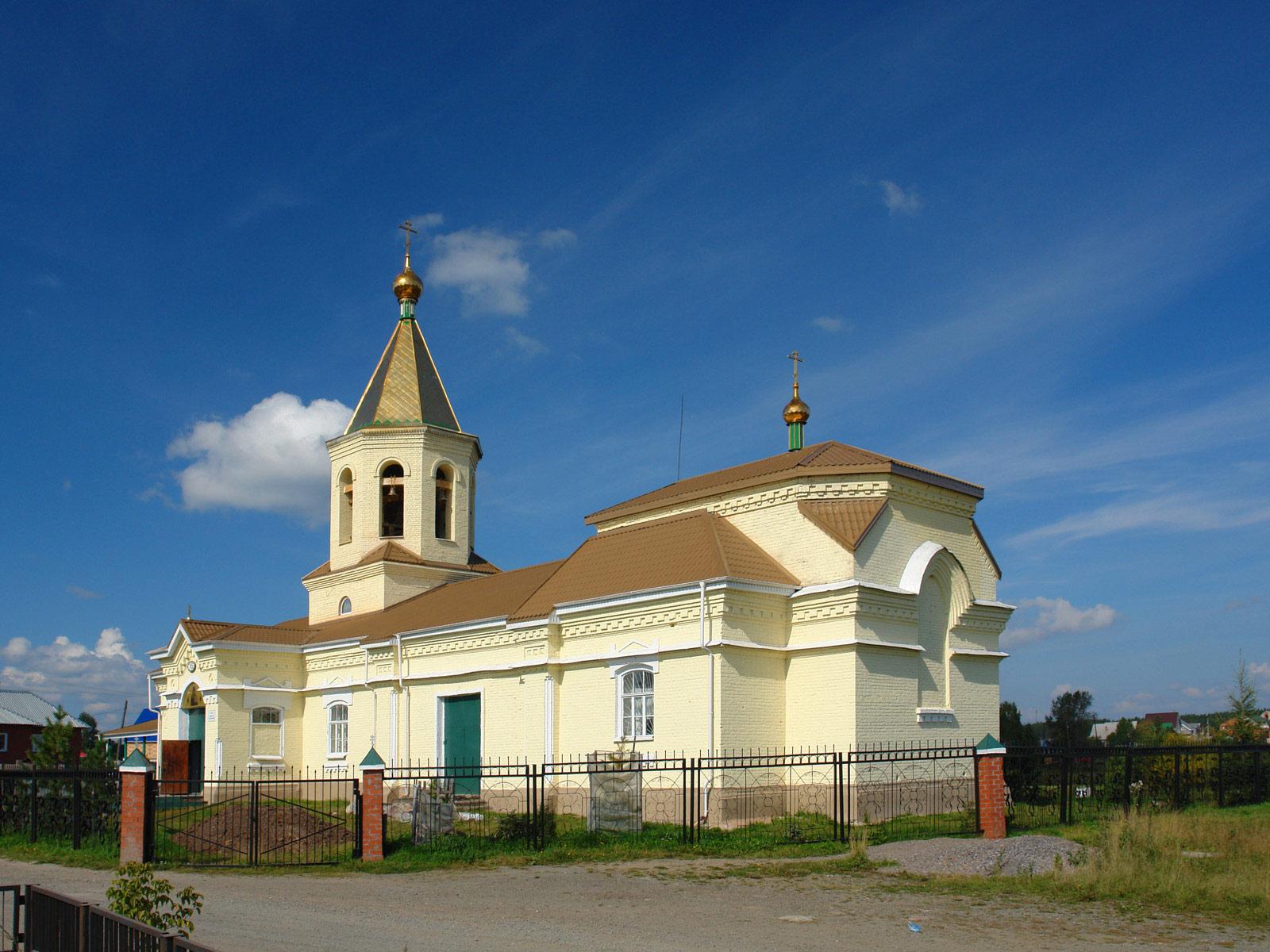 Нижний Тагил, поселок Горбуново: единоверческий храм Николая Чудотворца