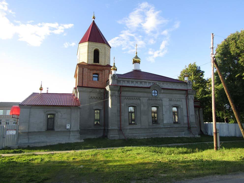 Село Городище Байкаловского района: храм Архангела Михаила