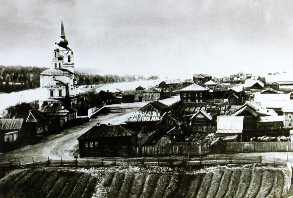 Знаменский храм в Верхотурье перед революцией
