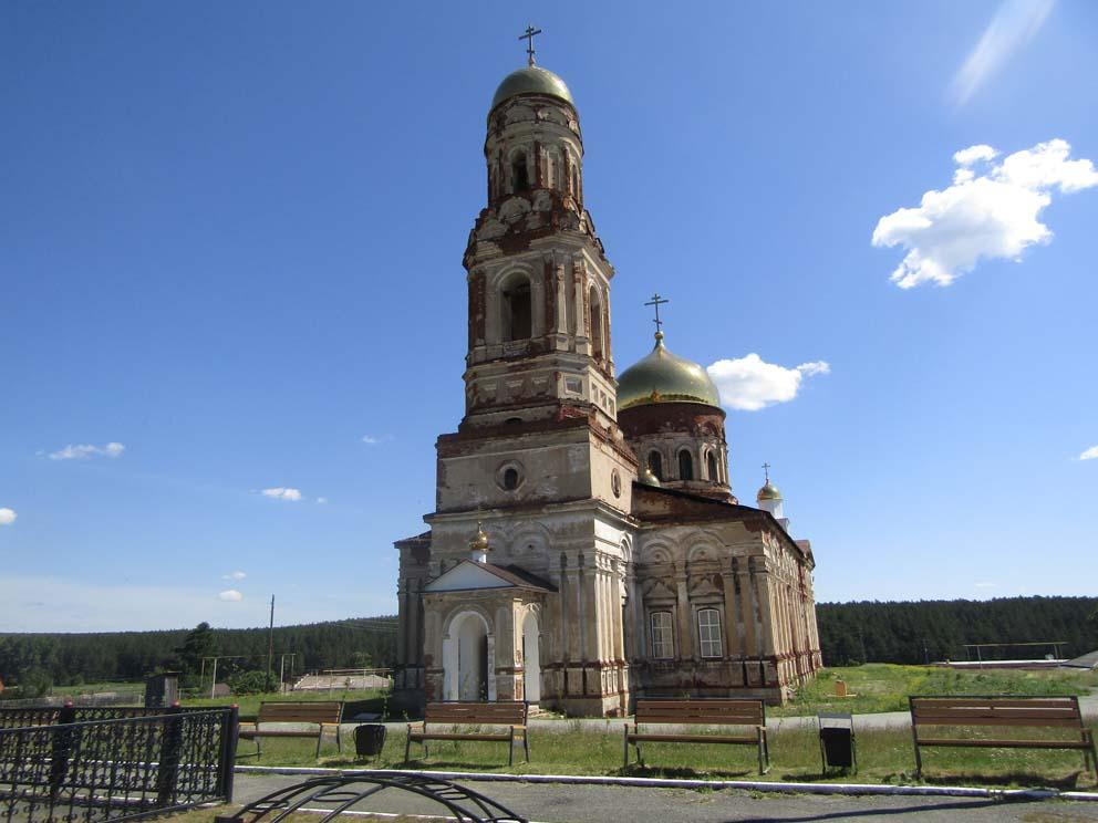 Маминское: храм Михаила Архангела