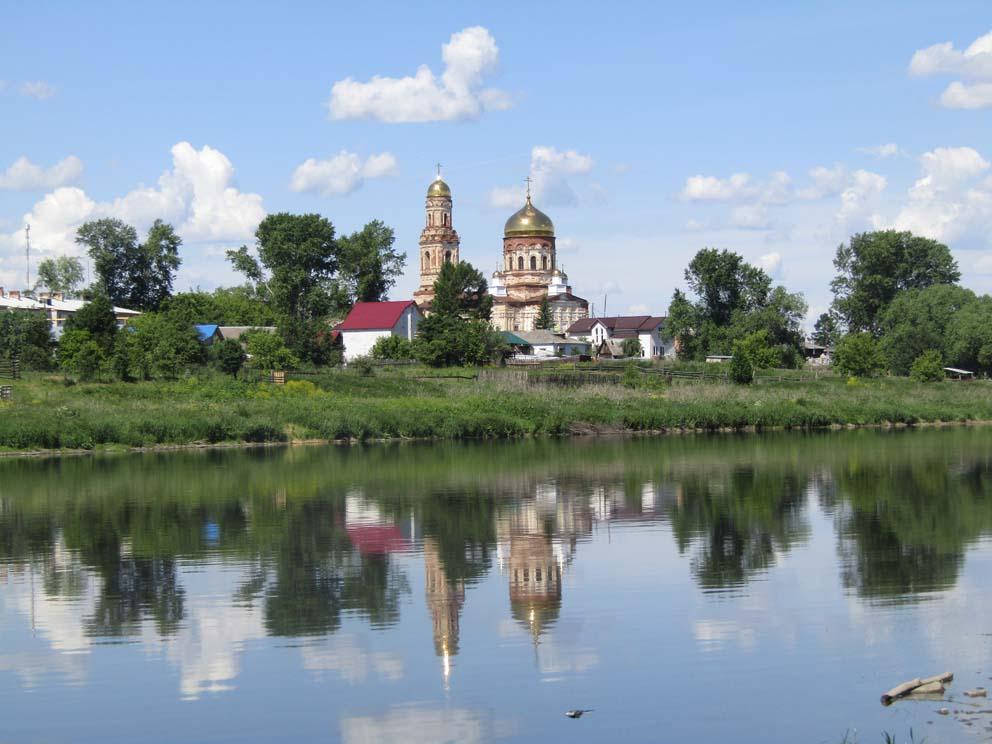 Маминское: храм Михаила Архангела. Фото Алексея Рычкова