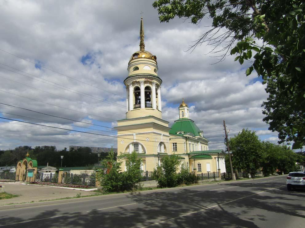 Свято-Троицкий собор с улицы Ленина