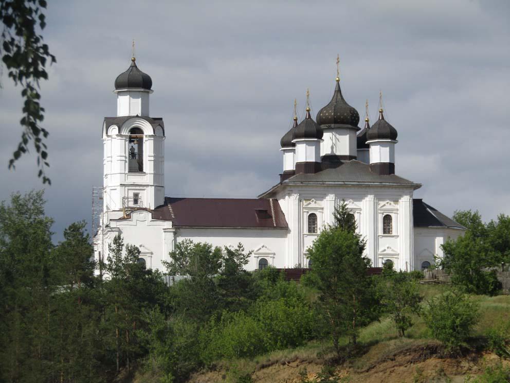 Монастырский Спасо-Преображенский храм