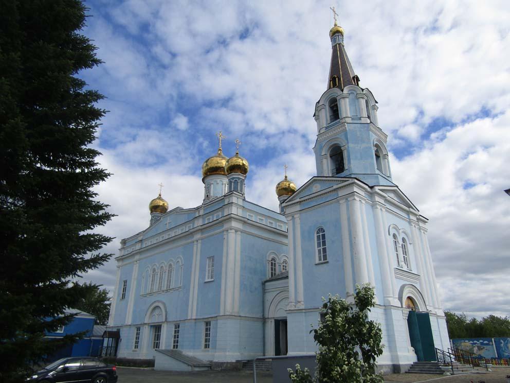 Покровский храм в Каменске-Уральском