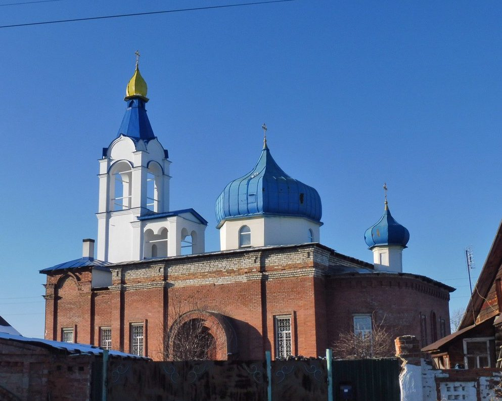 Камышлов: храм Сорока мучеников Севастийских