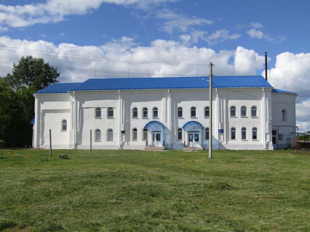 Село Ляпуново Байкаловского района: храм Сретения Господня