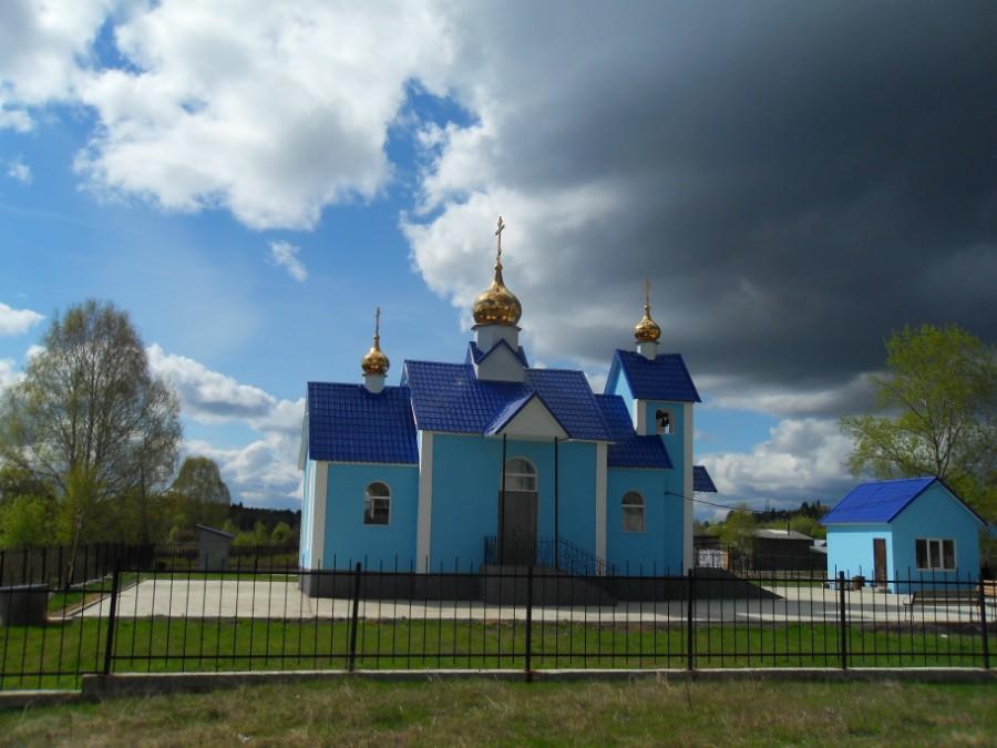 Поселок Маслово: храм иконы Божией Матери «Игоревская»