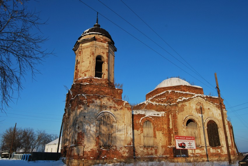 Село Раздольное: храм в честь Вознесения Господня