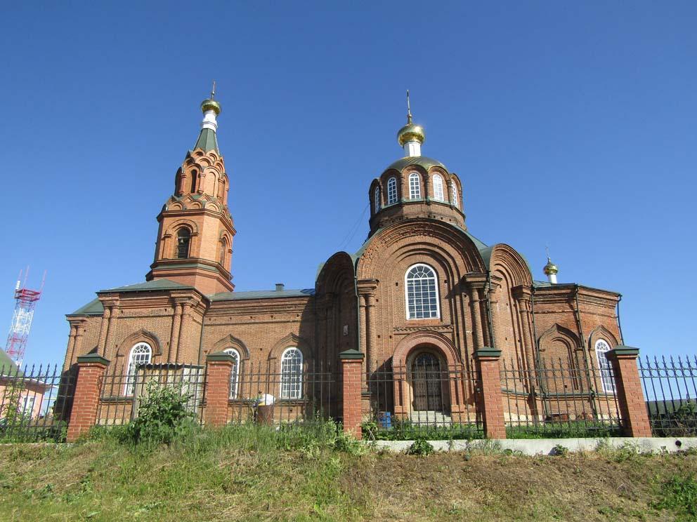 Село Сосновское: храм Рождества Христова