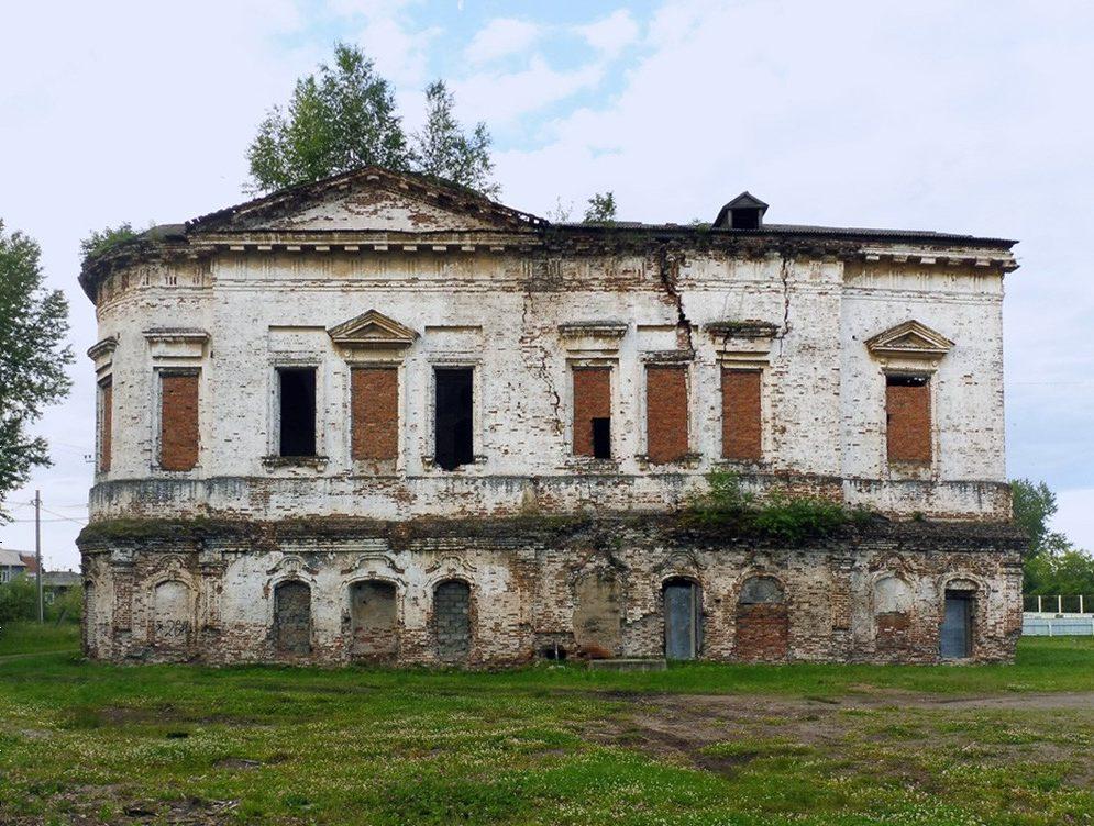 Современное состояние Воскресенского храма. Фото Александра Шатунова
