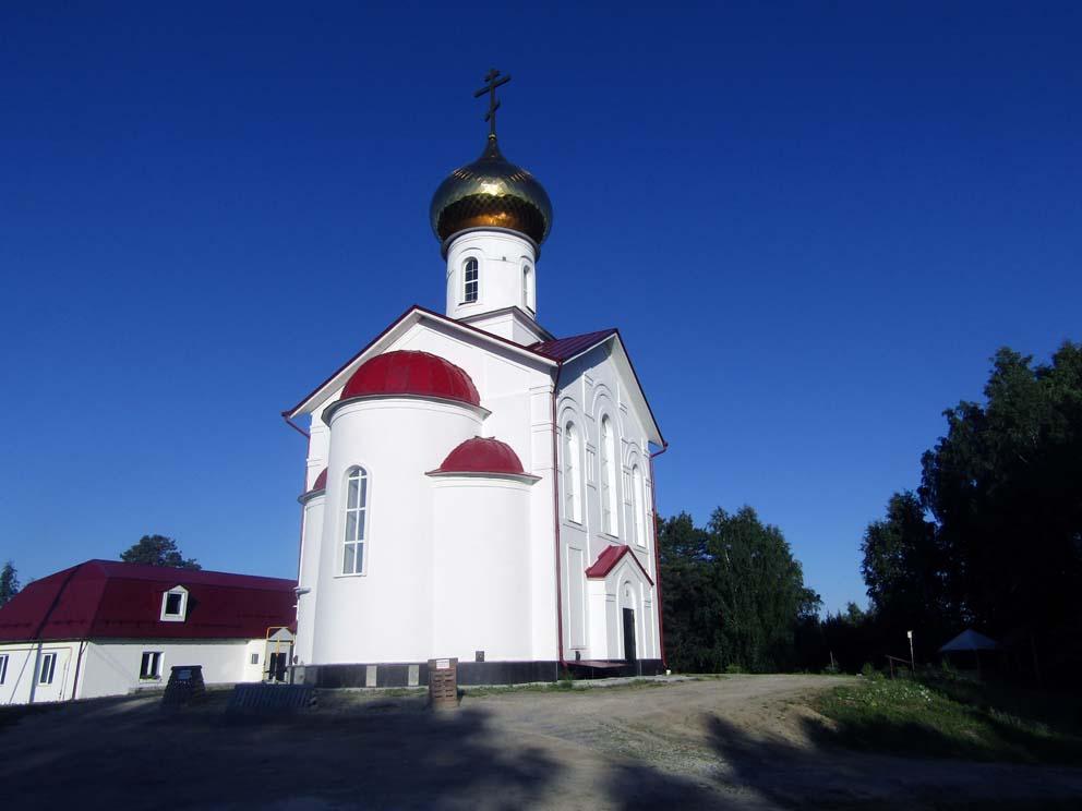Поселок Монетный: храм князя Владимира